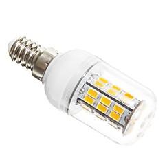 8W E14 LED 콘 조명 T 42 SMD 5730 1200 lm 따뜻한 화이트 AC 12 V