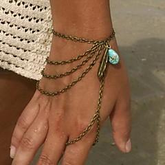 Shixin® Classic Tassel Resin Leaf Shape Charm Bracelet(1 Pc)