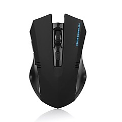 2.4ghz ergonomico gioco wireless mouse ottico 6 tasti 1600dpi