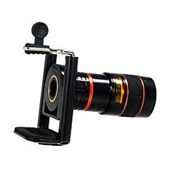 Kunststof Lens met lange brandpuntafstand 8X Lens met standaard S4 iPhone 5