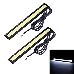 Merdia 6W 1500LM 14SMD LED COB White Light Car Strip Light (14cm / 12V)