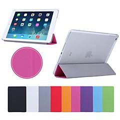 사과 iPad 3/iPad 4 - 한 색상 PU 가죽 , 레드/블랙/화이트/그린/블루/옐로우/그레이/퍼플/로즈 )