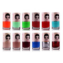 1PCS Candy Color Environmental Protection Nail Polish NO.18-49(Assorted Color)