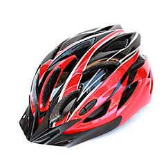 KINGSIR 18 Vents EPS+PC Red Black Integrally-molded Cycling Helmet(58-63cm)