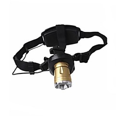 Shibaojia ® 3-Mode Cree Q5 TD-02 Adjustable Focus  Waterproof   Head Lamps Rechargeable   2 Batteries 1 AC Charge