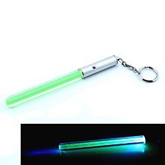 Mini Lightsabre Llavero LED (4 x AG3, verde)