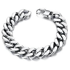 Classic Men's Charm Stainless Steel Bracelet  (1 Pc)
