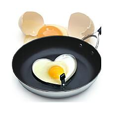 hjerteformet stegt æg skimmel