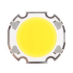 5W COB 450-500LM 3000K θερμό λευκό φως LED Chip (15-17V, 300uA)