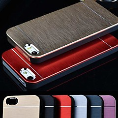 VORMOR® Metal Aluminum Brushed & PC Hard Back Case for iPhone 5/5S (Assorted Colors)