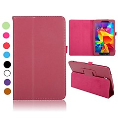 Lichee Pattern Flip Foldable Stand Auto Sleep/Wake UP Leather Case Samsung Galaxy Tab 4 8.0 T330(Assorted Colors)
