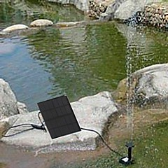 Solar Water Pump Cycle Pond Fountain Rockery Fountain