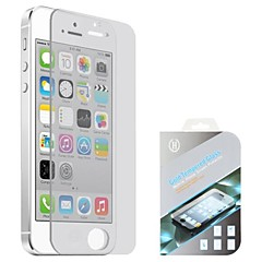 High Quality 0.2mm Gold Tempered Glass for iPhone 5/5S