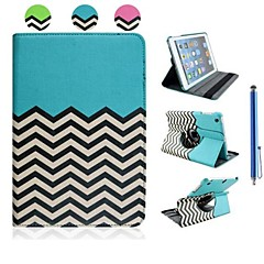 The Wave Grain Design Case for iPad mini 3, iPad mini 2, iPad mini (Assorted Colors)