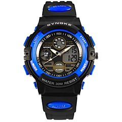 Children's Dual Time Zones Multifunction LED Digital Sports Wrist Watch 50m Waterproof (Assorted Colors) Cool Watches Unique Watches