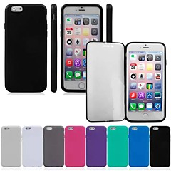 Double Sided Box Full Body Cover for iPhone 6 (Assorted Colors)