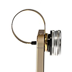 3-in-1 Fisheye + Wide Angle + Macro Camera Clip Lens for Sony Xperia Phone-Silver+ Golden