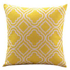 Cotton/Linen Pillow Cover , Graphic Prints Modern/Contemporary