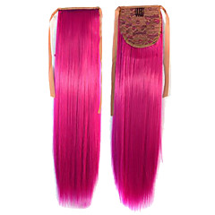 Hot Selling Peny Tail Hair Clips Farve Farverige Red Bar Engros Hair Extension Fuchsia Cute Sexy