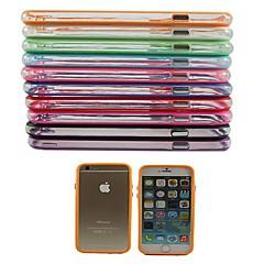 Na Etui iPhone 6 / Etui iPhone 6 Plus Odporne na wstrząsy Kılıf Bumper Kılıf Jeden kolor Twarde PC iPhone 6s Plus/6 Plus / iPhone 6s/6