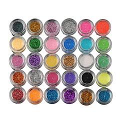 30 Paleta de Sombras Paleta da sombra Pó Normal Maquiagem de Festa