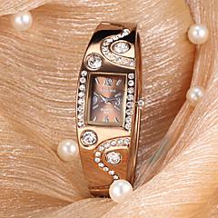 vrouwen horloge diamant decor stalen armband