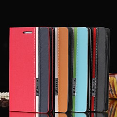 Assorted Color PU Leather Full Body Case with Stand and Card Slot for iPhone4/4S (Assorted Colors)