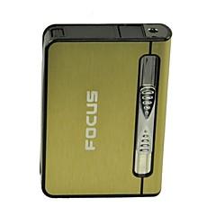 cas butane d'éjection automatique de l'allume-cigare (couleur aléatoire)