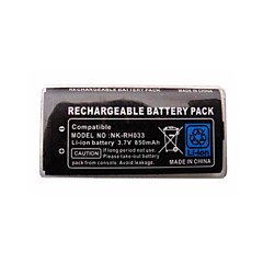 850mAh lithium-ion kit de bateria + pacote de ferramentas recarregável para Nintendo DSi NDSi