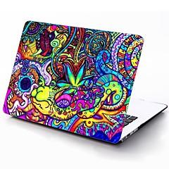 motif coloré de tout le corps cas de protection en plastique pour 11 pouces / 13 pouces nouveau MacBook Air