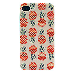 Caso duro Pineapple Pattern for iPhone 4/4S