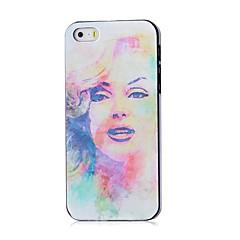 caso difícil Marilyn Monroe padrão para iphone 4 / 4s