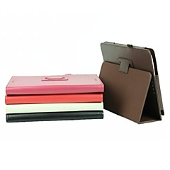 10.1 Inch Lichee Pattern PU Leather Case with Pen for ASUS-T100TA(Assorted Colors)