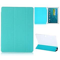 Tri-faltbaren Standfuß Quer Textur auto Schlaf / Wach-Ledertasche für Samsung Galaxy Tab s t800 (verschiedene Farben)