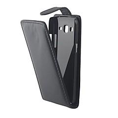 Na Samsung Galaxy Etui Flip Kılıf Futerał Kılıf Jeden kolor Skóra PU Samsung Grand 2