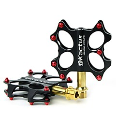 KACTUS Bike MTB BMX Platform Pedals Flat Pedals Axle Stainless Steel Spindle