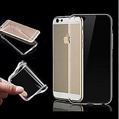 vormor® tpu ultra-transparante zachte hoes voor de iphone 6 plus