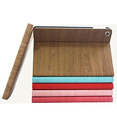 Wood Pattern Protective Case Cover with Stand for iPad 2/3/4
