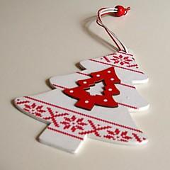 navidad colgando decorativos pequeños árboles moldear 1 pc materiels mdf