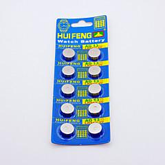 Huifeng AG13 Knopfzelle für Uhren (10 Stück)