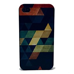 Geometry Design Pattern PC Hard Case for iPhone 4/4S