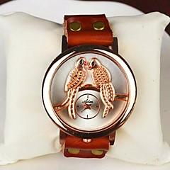 Women's Fashion Love Bird Leather Bracelet Watch(Assorted colors)