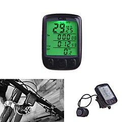 Bike Computer Waterproof 28 Multifunction Wireless Bike Bicycle Cycling Computer Odometer Speedometer LCD Backlit