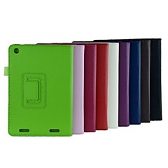 7.9 Inch Two Folding Pattern  Lichee Case with Stand  for Acer Iconia A1-830-25601G01nsw (Assorted Colors)