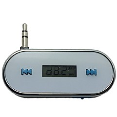 3.5mm In-Car Wireless FM Transmitter for iPhone 4 4S 5S 6 Plus Samsung Galaxy S3 S4 S5