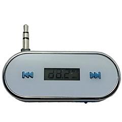 아이폰 3.5MM에서 차 무선 FM 송신기 4 4S 5 초 6 플러스 삼성 갤럭시 S3 S4 S5