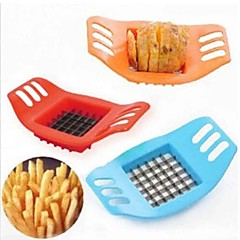 burgonya aprítógép kreatív burgonya bar vágógép vágott krumpli / hasábburgonya eszköz kék szín
