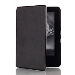 アマゾン新Kindleの2014 eリーダーのための恥ずかしがり屋のクマ™6インチの磁石の革カバーケース