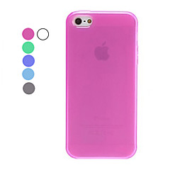 Case Suave para iPhone 5 (Várias Cores)