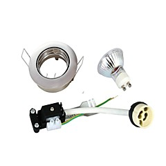 3W GU10 Oświetlenie do zabudowy Do zabudowy 9 SMD 2835 230 lm Ciepła biel AC 220-240 V